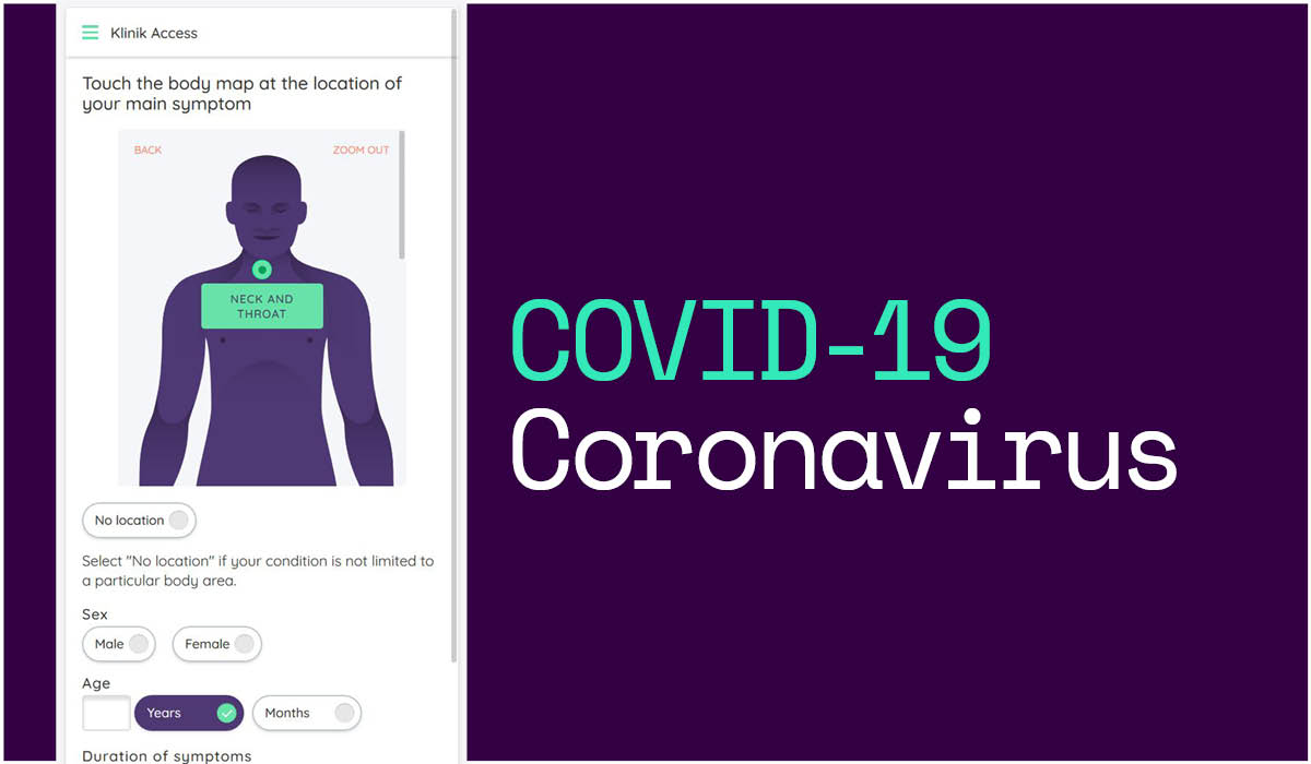Helping the NHS to reduce the spread of coronavirus